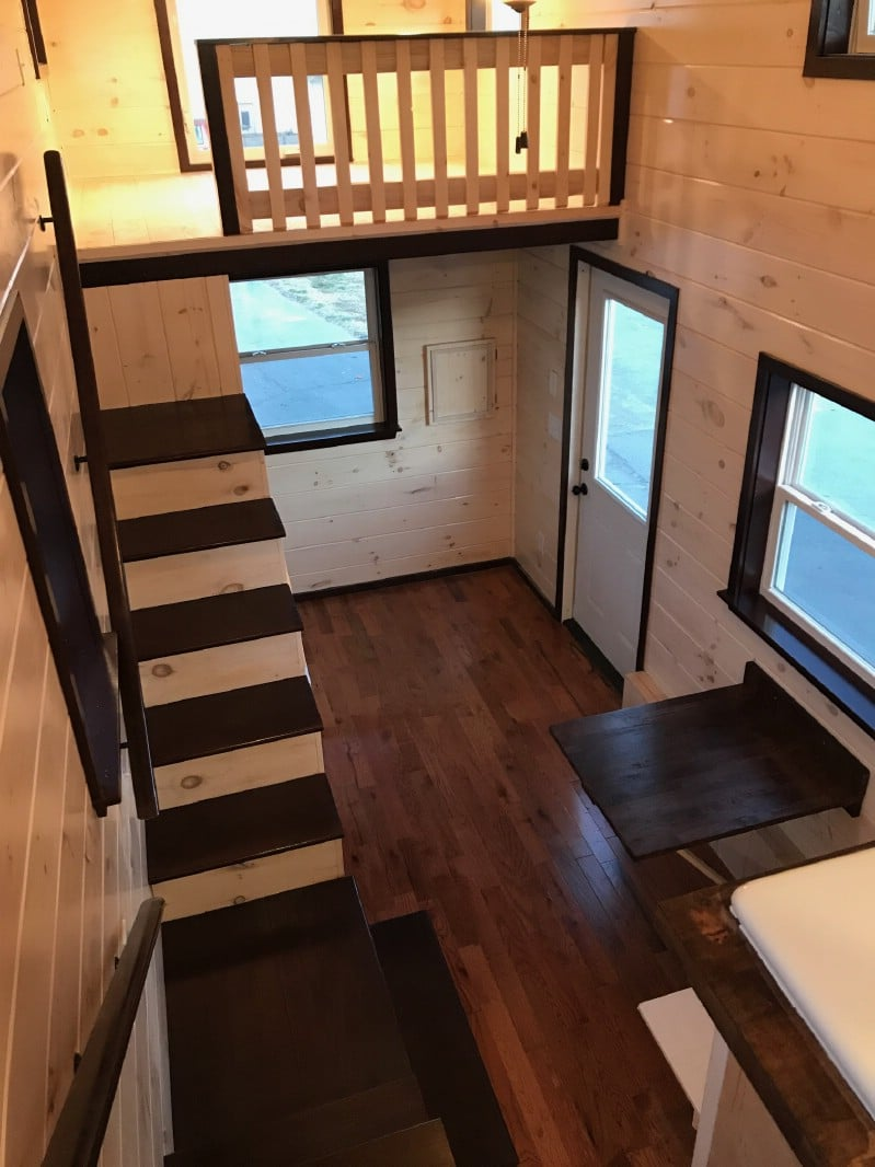 You'll Never Guess What's In the Loft of This Tiny House