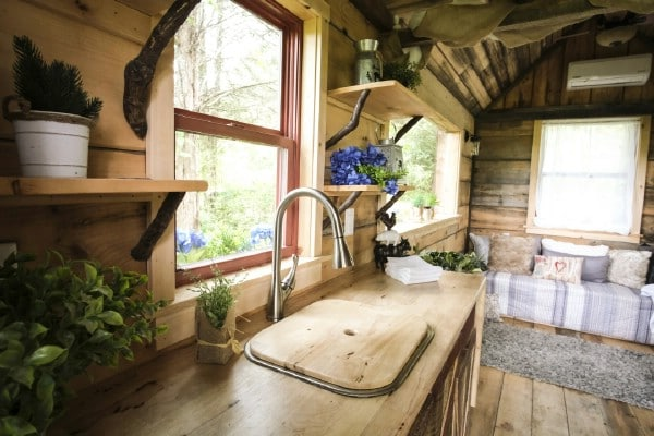 This Stunningly Artistic Woodsy Tiny House Starts at Just $15,000
