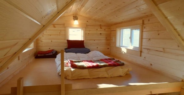 The Ynez Tiny House Offers a Larger Loft