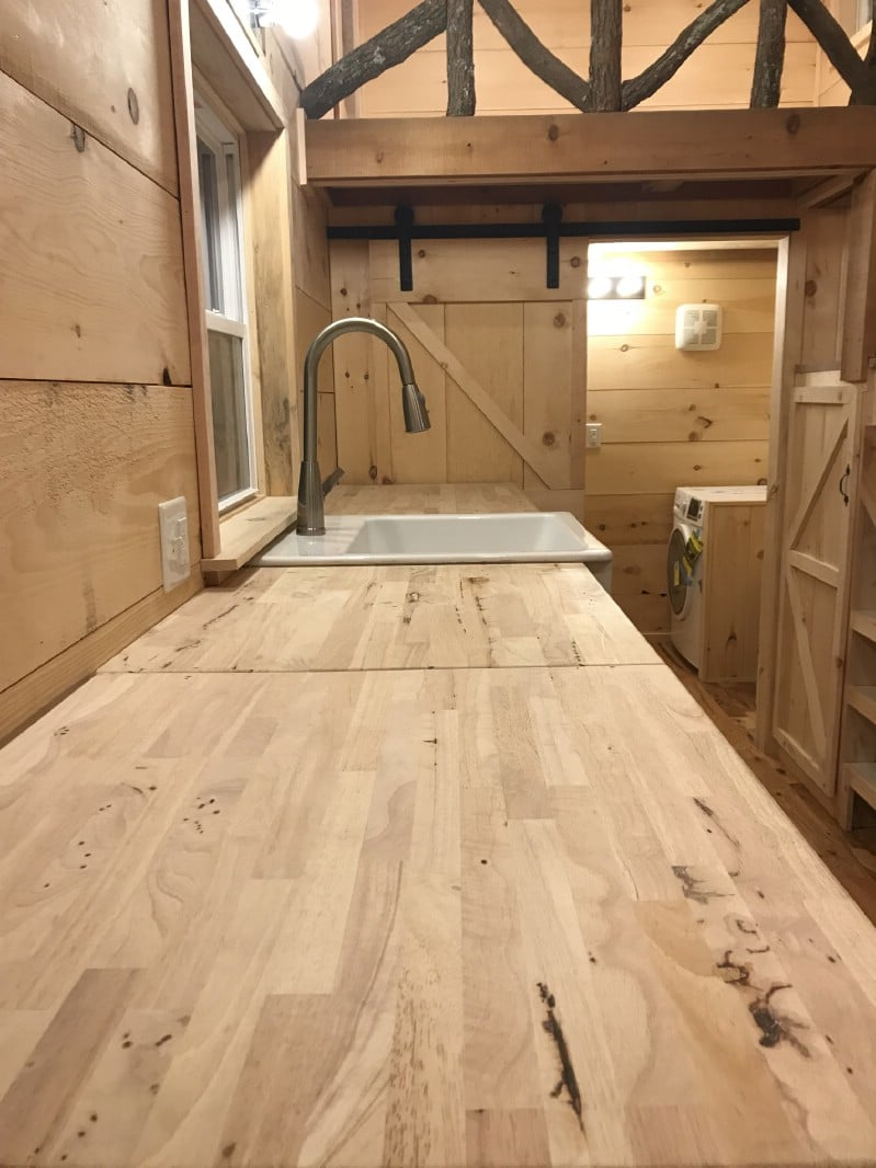 The Cheyenne Rustic Tiny House Shows What's Possible in 160 Square Feet