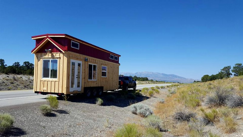 California Dreaming in the California Red Tiny House