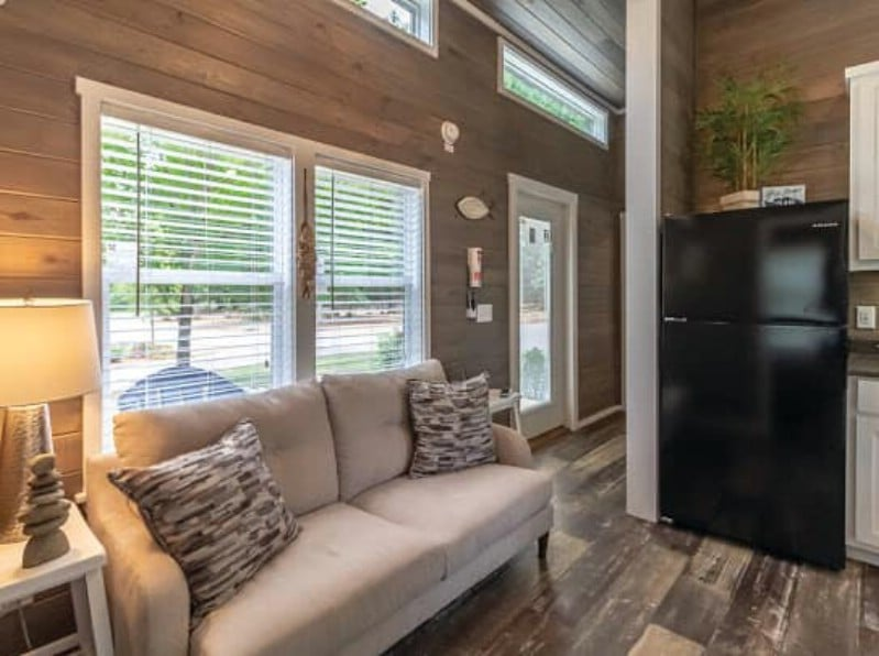 The Glenwood Tiny House Features Two Huge Bedrooms