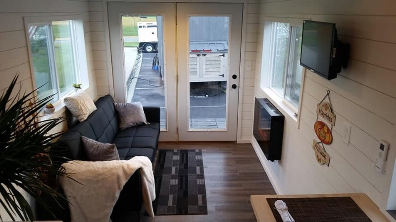 The Latest Tiny House by Hawk Tiny Homes Will Become Your Next Tiny House Obsession