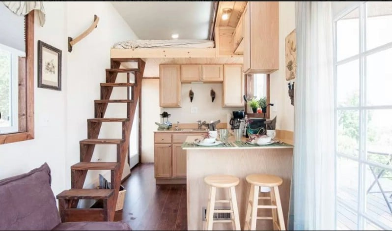 The Alpine Tiny House by Zen Tiny Homes is as Bright and Inviting as Sun-Soaked SoCal