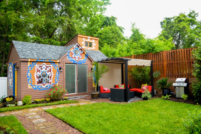 Moroccan Cottage Tiny House Tour: