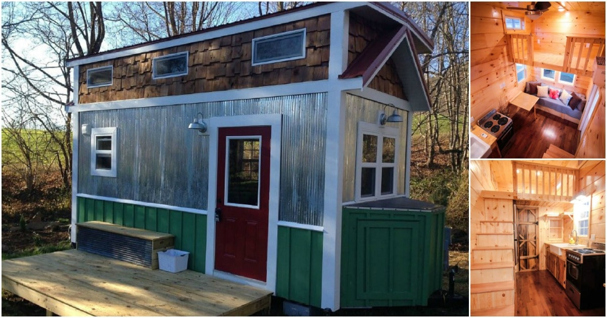 The 8 X 18 Envy Tiny House Will Be The Envy Of All Your Neighbors Tiny Houses