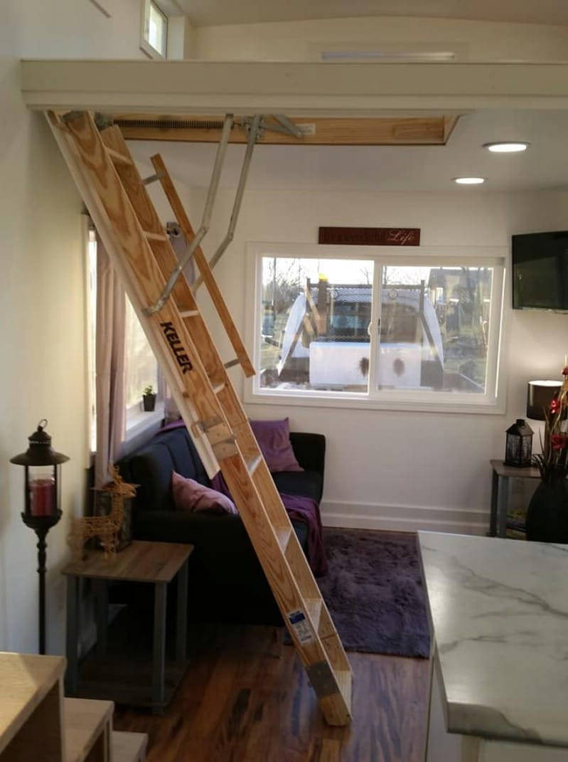 This Innovative Tiny House Features a Unique Ladder System