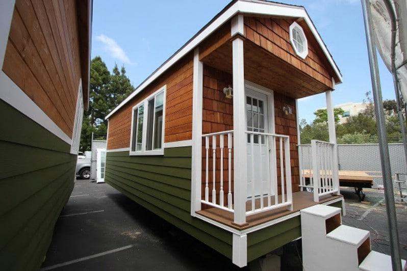 Mobile Bungalow Studio Tiny House Tour: