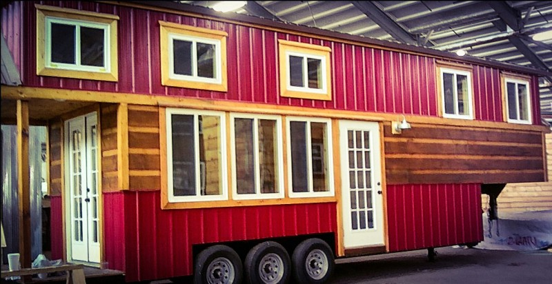 The Redwood Cabin Tiny House Tour