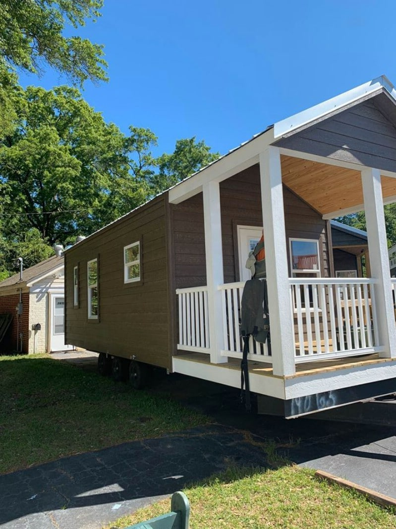 This Riverview Park Model RV is On Sale for a Great Low Price