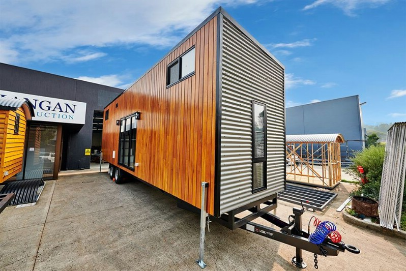 The Cradle Mountain Tiny House is the Biggest Yet from Tiny Homes Australia