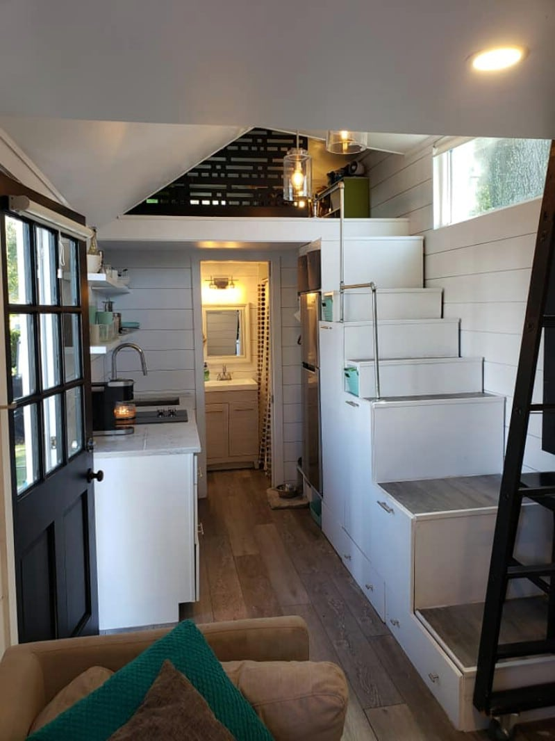 This 24-Foot Tiny House for Sale Features Homey Contemporary Vibes