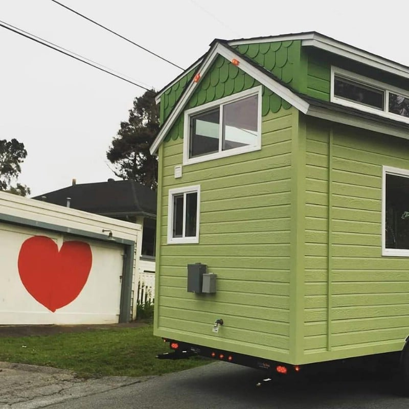 You Can Get This 18' Fully Furnished Tiny House for Just $37,000