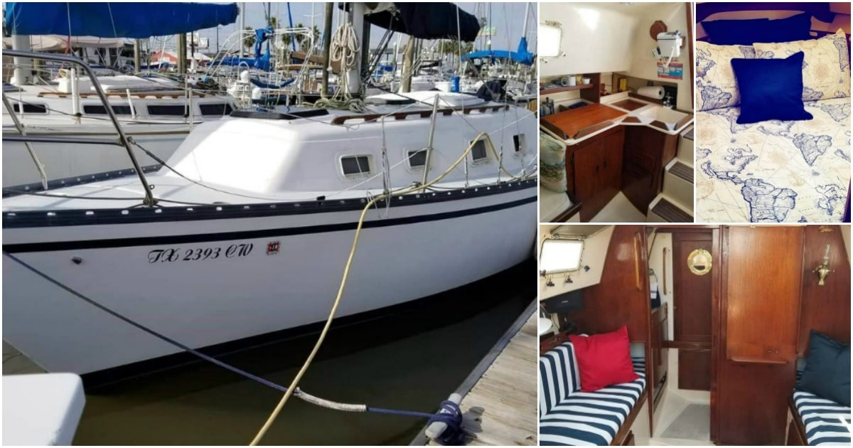 This 1981 Hunter Cheribini 27 Could Be Your Home on the Waves