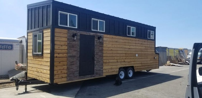 This 28' Long, 8.5' Wide Tiny House for Sale is Almost Brand New