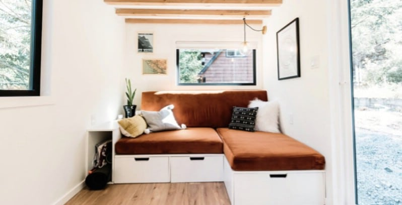 Couple Builds Beautiful Tiny House on Vancouver Island