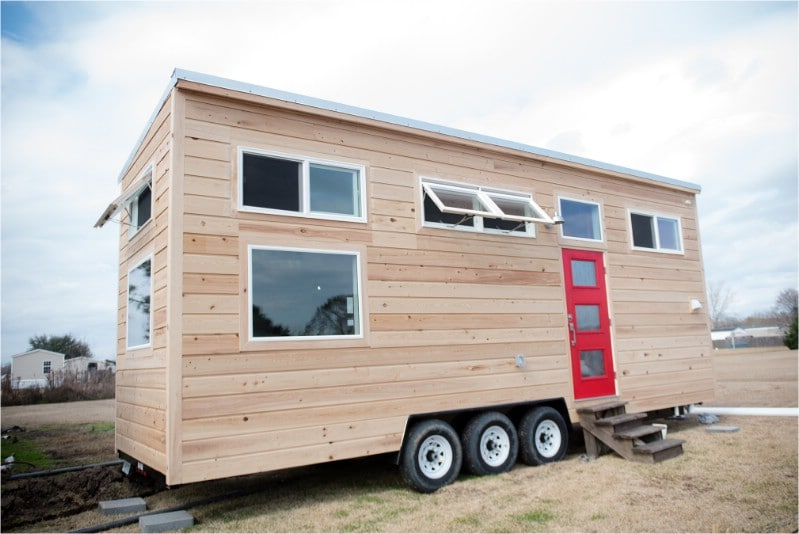 The Louisiana Tiny Home Build is 28' of Comfortable Living