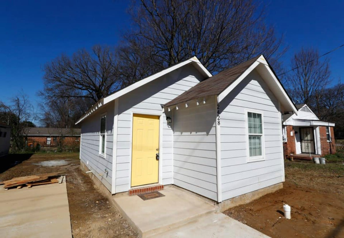 This 480-Square-Foot Tiny House is for Sale in Memphis, Tennessee