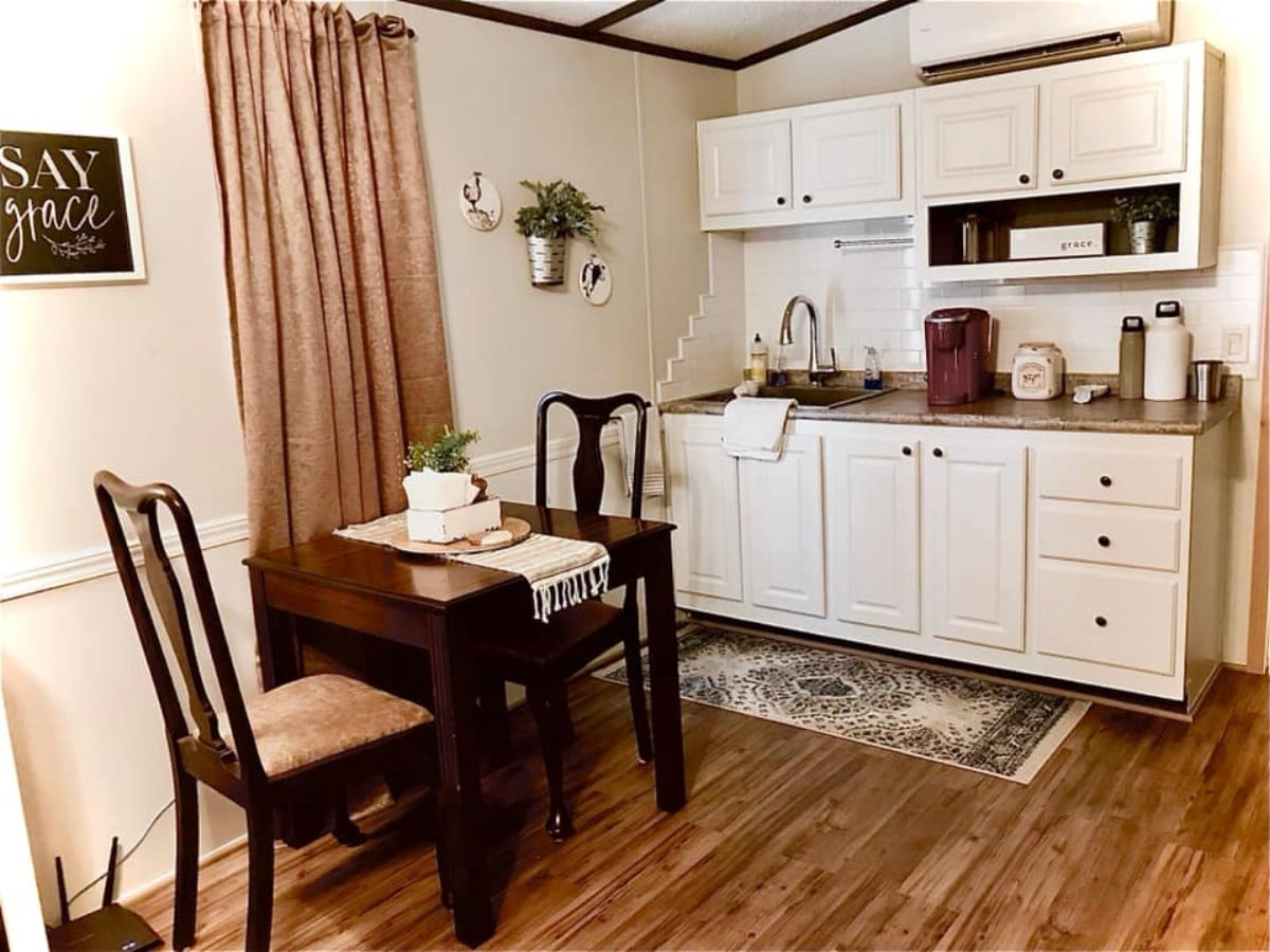 This Charming 399-Square-Foot Tiny House is Filled With Storage Space