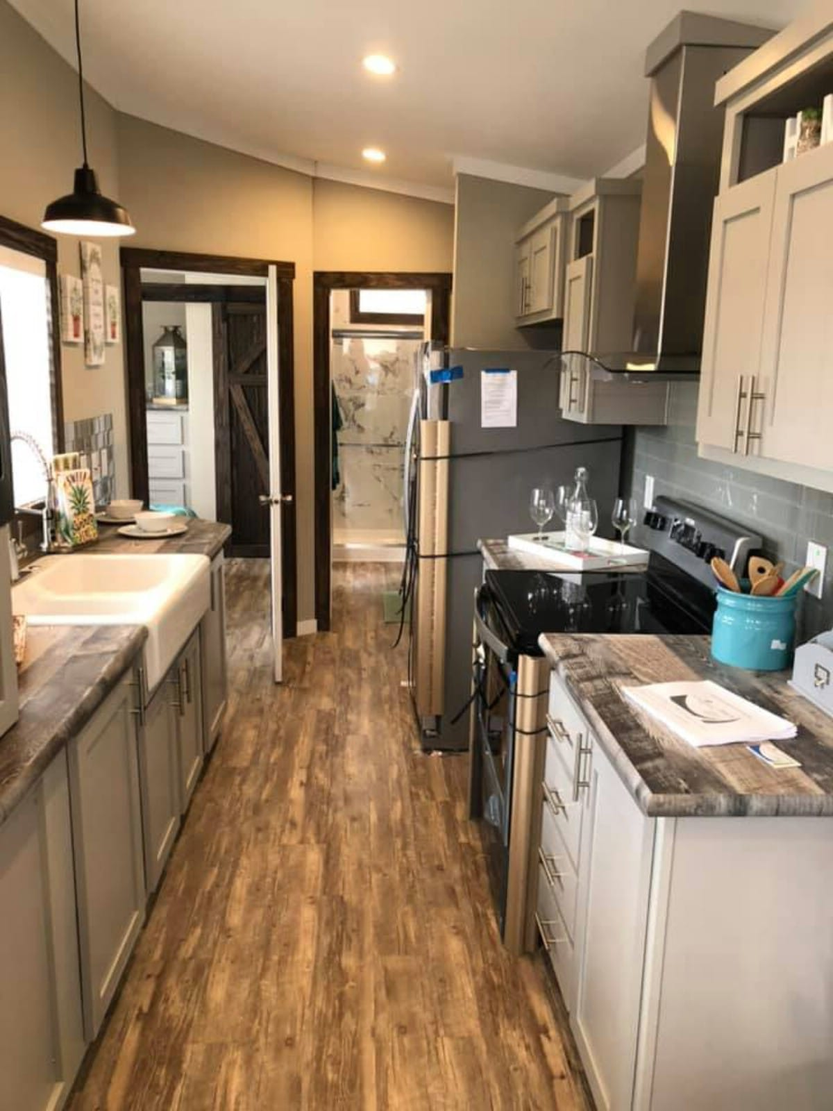 This Tiny House for Sale in TX Includes the Amazing Deck and All Appliances