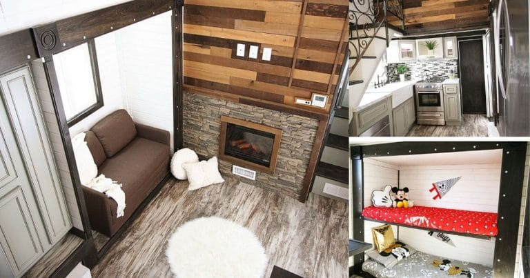 Carpathian Tiny House Collage