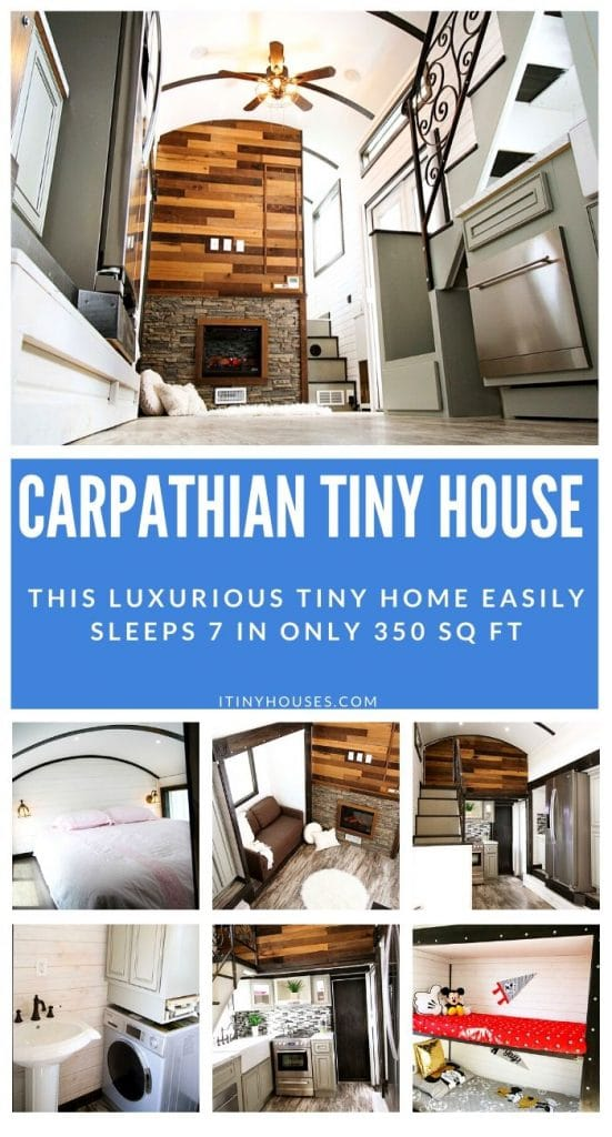 Carpathian Tiny House Collage