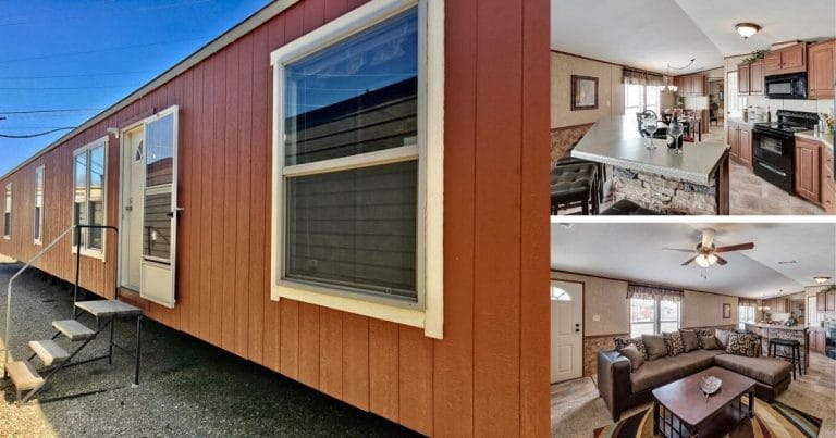 Country Chic Mobile Home Collage