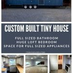 Custom Build Tiny House Collage