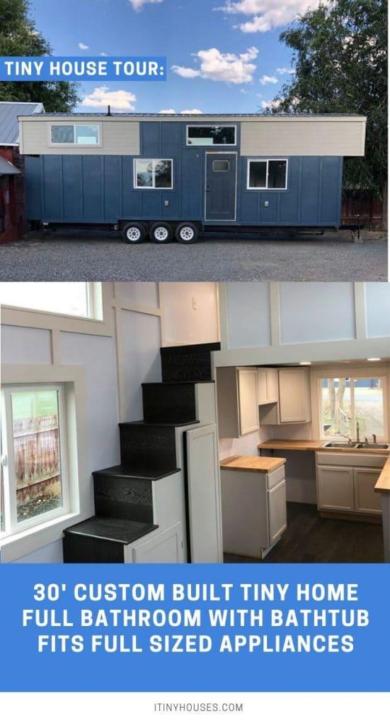 Custom Build Tiny House Collage