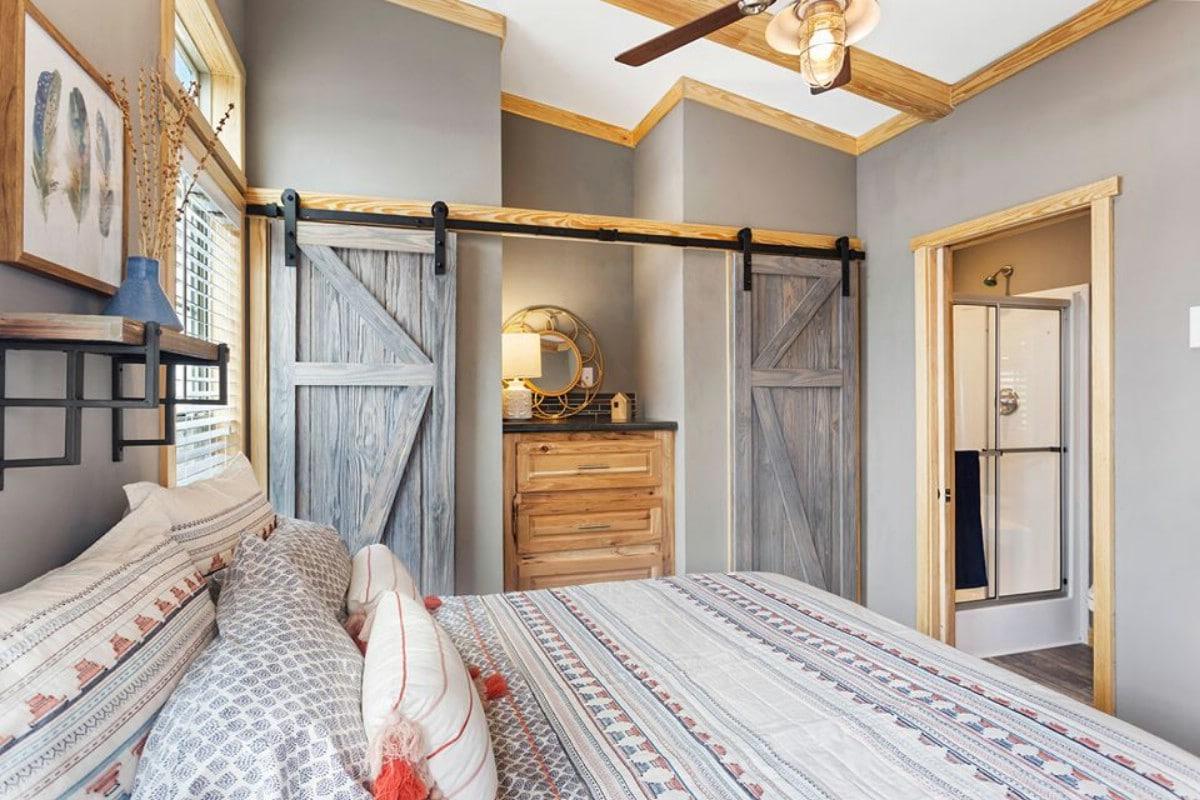 Barn door closets