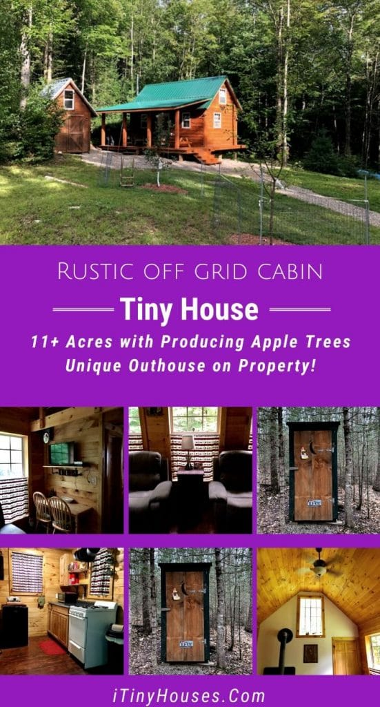 Off Grid Cabin Collage
