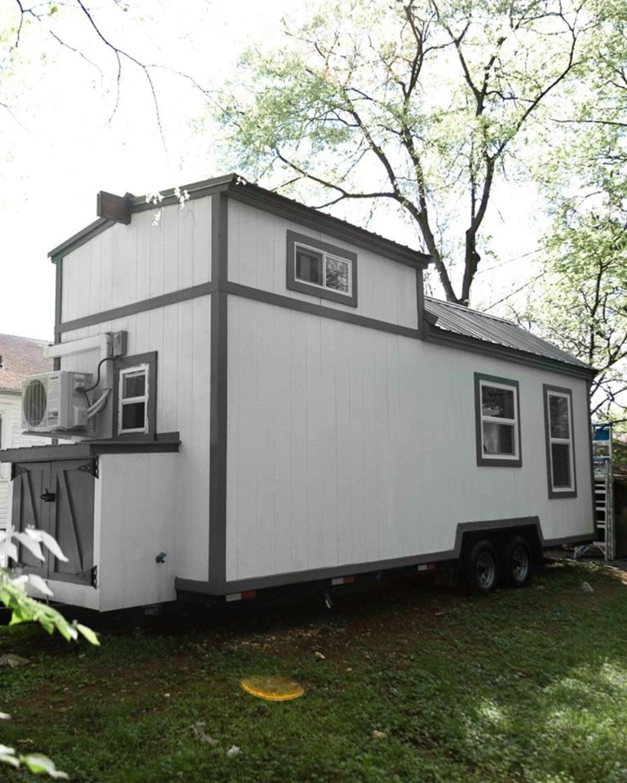 Lofted tiny house