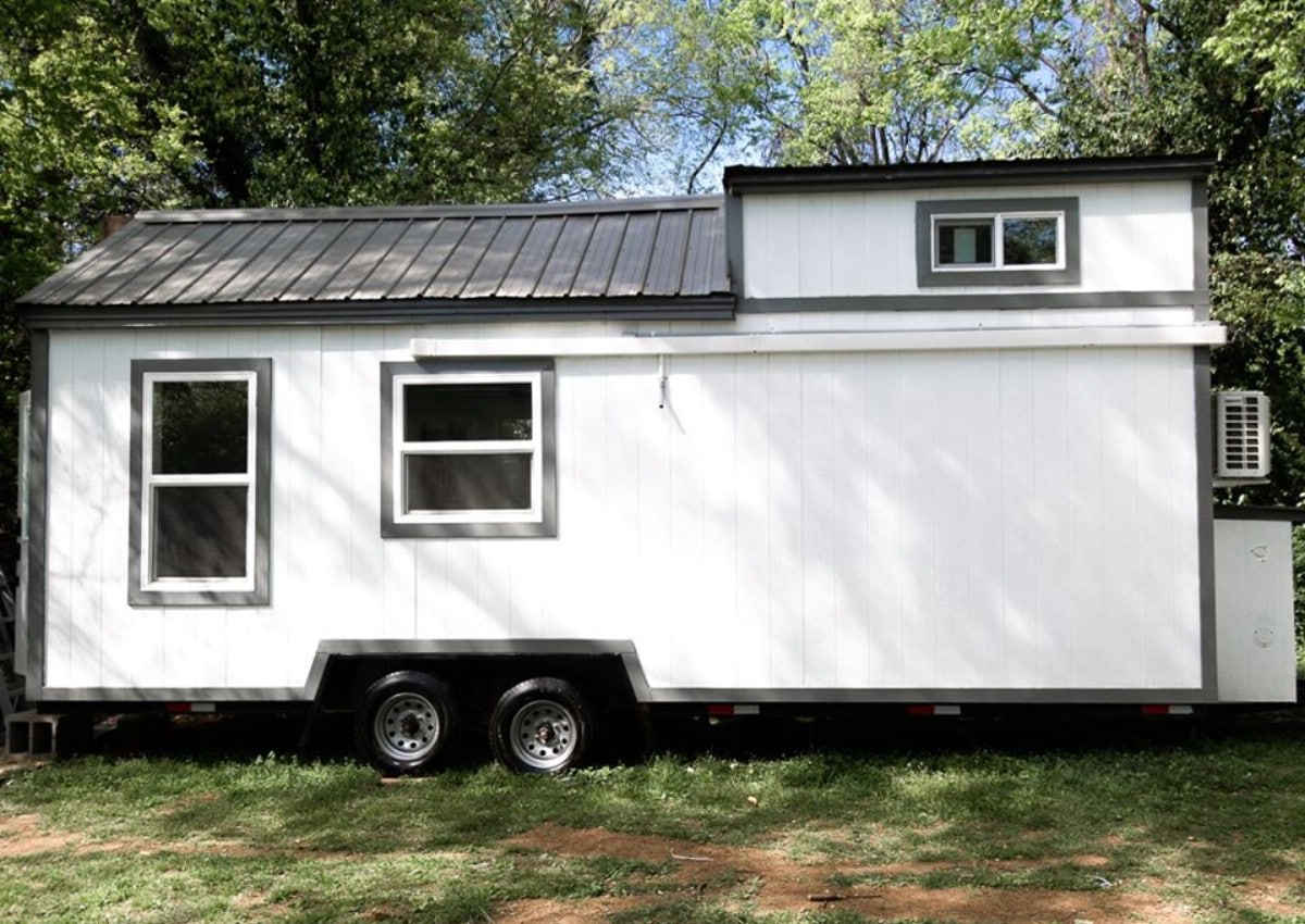 Full view of tiny house