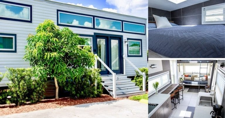 The Ritz Tiny House Collage