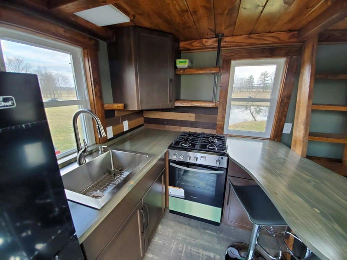 Woodland escape kitchen