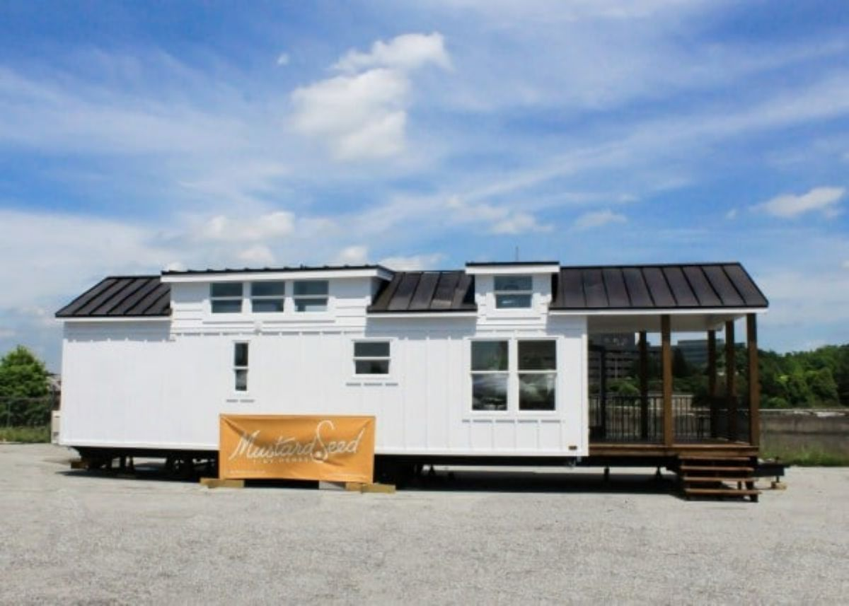 The Zion Tiny House is a Comfortable 528-Square-Foot Abode