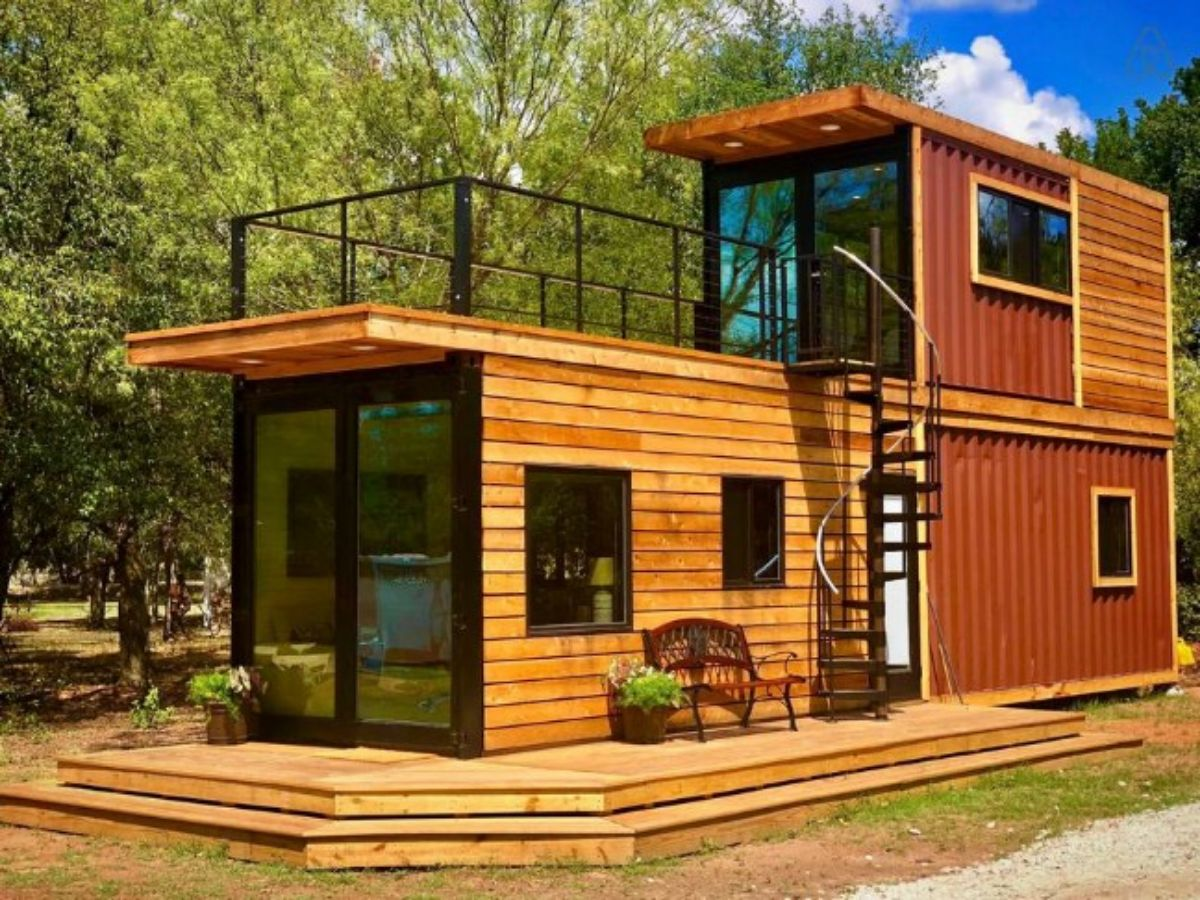 CargoHome Container House with Downstairs BedroomCargoHome Container House with Downstairs Bedroom