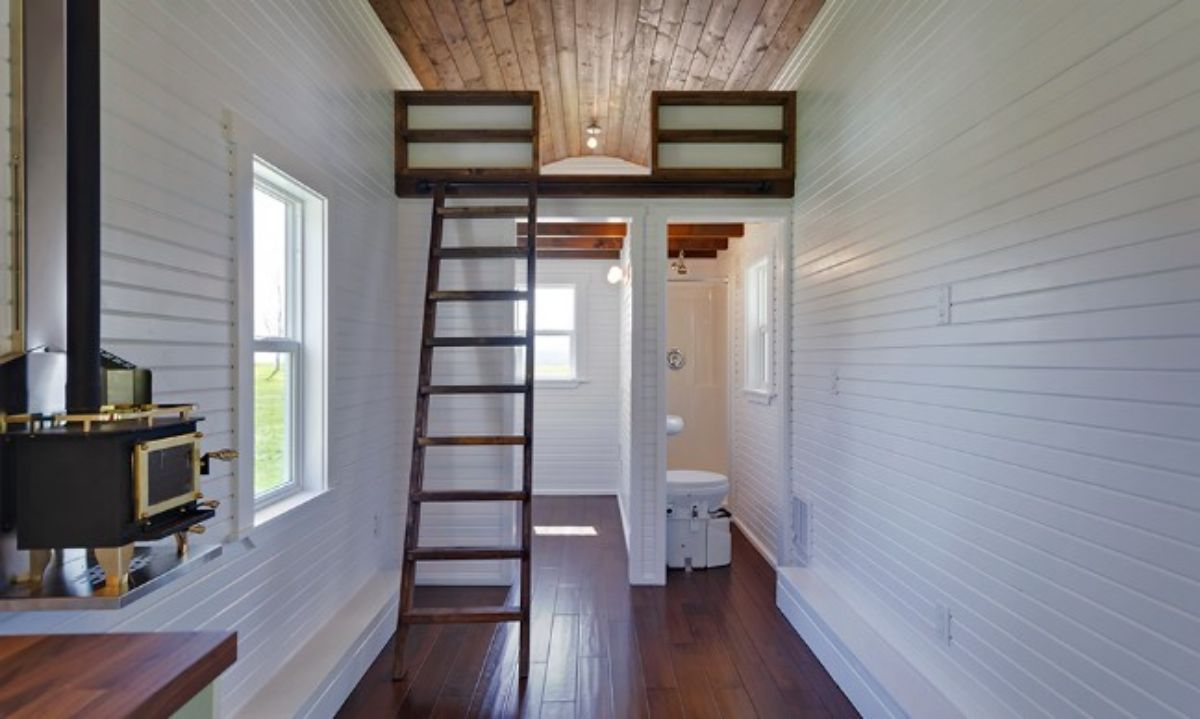 The Loft Model by Mint Tiny House Company