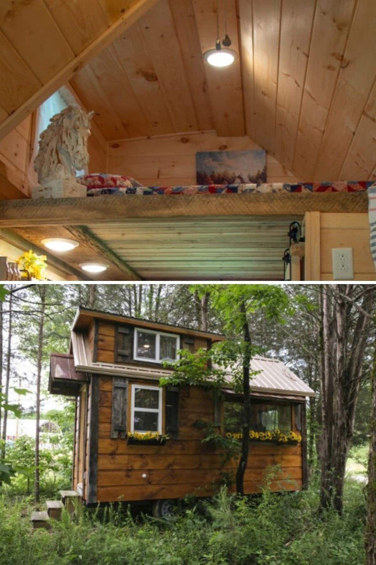 """A Homey Loft in """"The Best Little Hen House"""""""