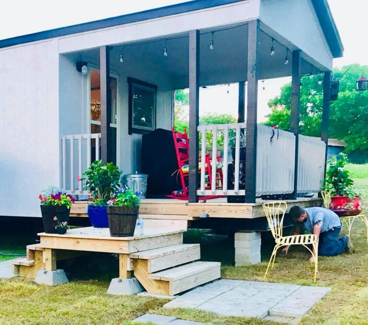 399-Square-Foot Tiny House With Ample Storage Space