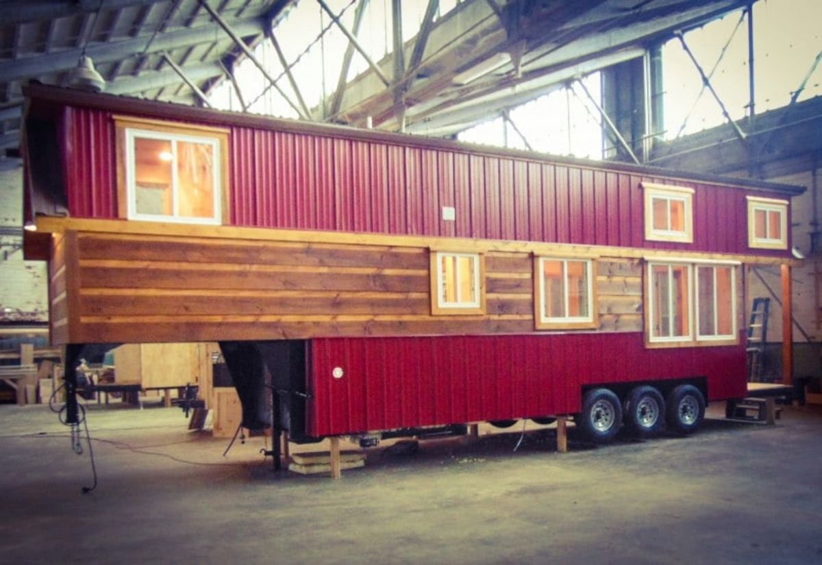 The 288-Square-Foot Redwood Cabin