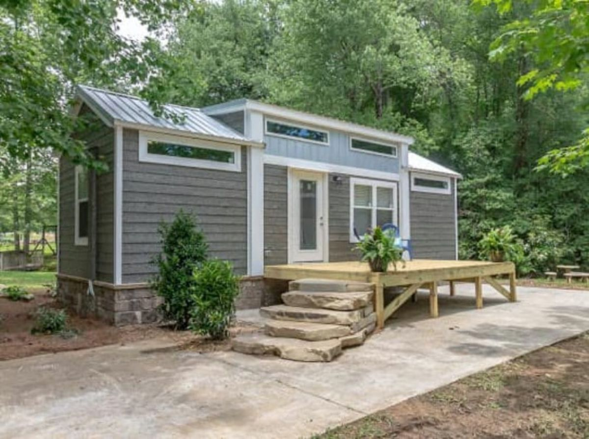 The Glenwood Tiny House With Two Downstairs Bedrooms