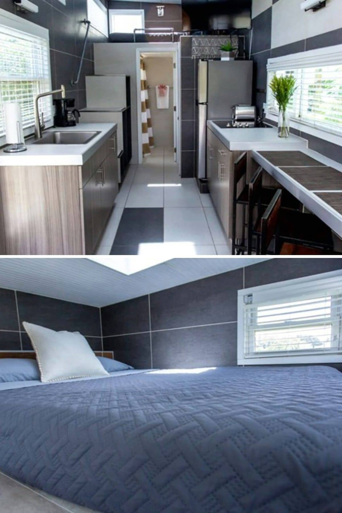 Small, Modern Loft