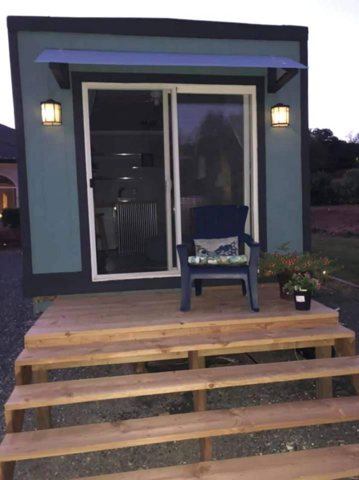 Tiny House With Downstairs Bedroom for $30,000