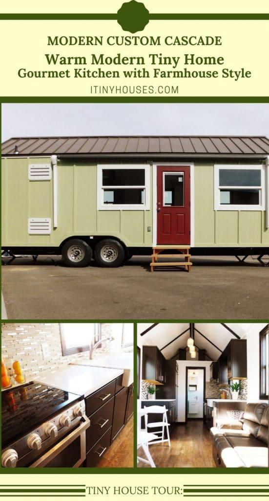 Custom Cascade Tiny Home Collage