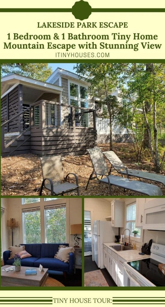 Lakeside park tiny house collage