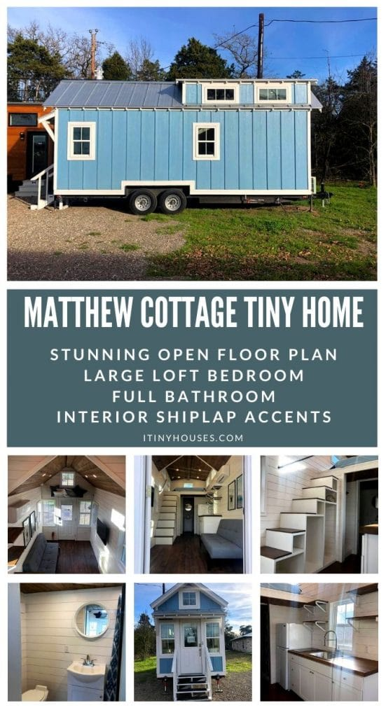 Matthew cottage tiny home collage