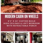 Modern Cabin collage