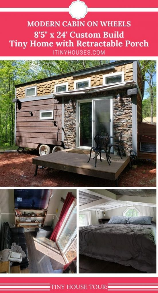 Modern Cabin collage
