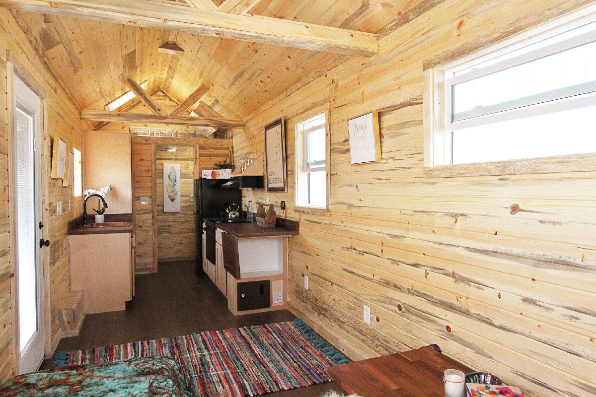 Full view of tiny home